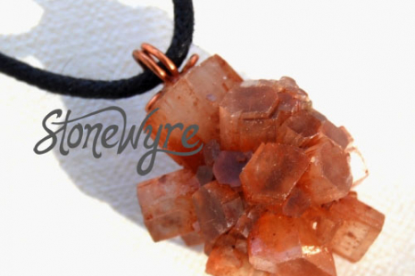 Natural Aragonite Sputnik Crystal Pendant