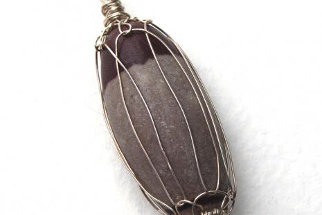 Shiva Lingam Netted Pendant