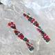 DNA Helix Sterling Silver Earrings