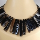 Stunning Agate Stick Necklace