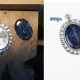 Blue Pietersite Pendant Sterling Silver Frame