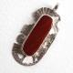 Southwest Jasper Sterling Silver Pendant
