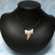 Fossil Tooth Pendant Necklace Unisex