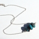 Minimalist Hubei Turquoise Necklace